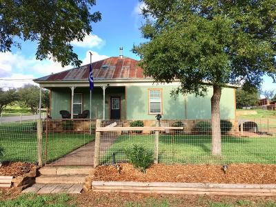 Mason County Single Family Home Under Contract: 216 N Avenue F