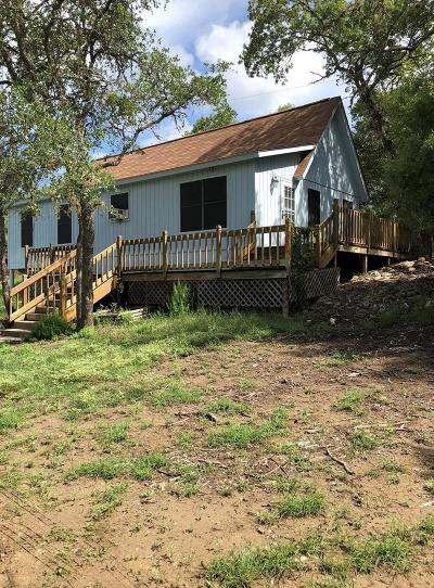 Blanco County Single Family Home Under Contract W/Contingencies: 5517 E Ranch Rd 473