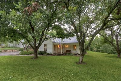 Fredericksburg Single Family Home Under Contract: 305 S Milam St