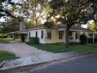Fredericksburg Single Family Home For Sale: 607 W Peach St