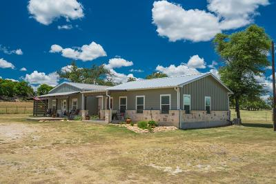 Gillespie County Single Family Home For Sale: 31 Wood Stove Rd