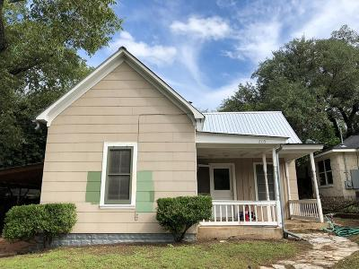 Gillespie County Single Family Home For Sale: 205 S Creek St