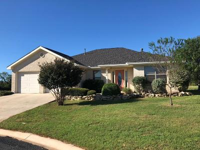 Gillespie County Single Family Home Under Contract W/Contingencies: 808 Scarlet Oak Court