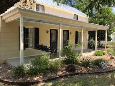 Fredericksburg Single Family Home For Sale: 608 W Schubert St