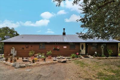 Fredericksburg TX Single Family Home Under Contract: $475,000