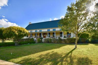 Kerr County Single Family Home For Sale: 135 Bluff Trail Rd