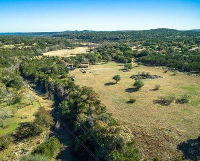 Blanco County Single Family Home For Sale: 1596 Red Rock Rd