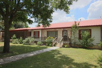 Gillespie County Single Family Home For Sale: 604 S Creek St