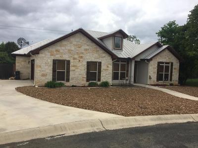 Fredericksburg Single Family Home For Sale: 119 N Stone Canyon