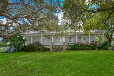 Gillespie County Single Family Home For Sale: 175 Wagon Trail