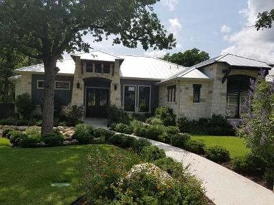 Fredericksburg Single Family Home Under Contract W/Contingencies: 123 Stone Canyon