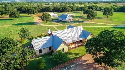 Gillespie County Single Family Home For Sale: 553 Goehmann Oaks Rd