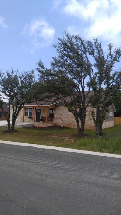 Gillespie County Single Family Home For Sale: 714 Emory Dr