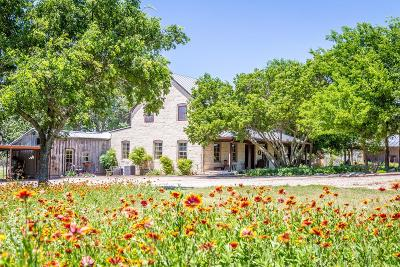 Fredericksburg Single Family Home For Sale: 537 Crenwelge Rd