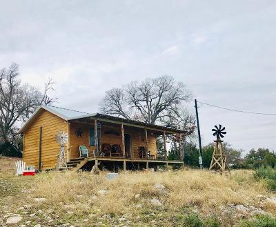Gillespie County Single Family Home Under Contract: 6675 NW Doss Spring Creek Rd