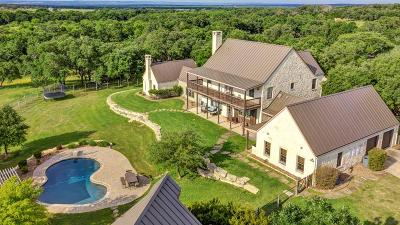 Gillespie County Single Family Home For Sale: 270 Cool Water Ranch Rd