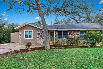 Kerrville Single Family Home Under Contract W/Contingencies: 1101 Lake Dr