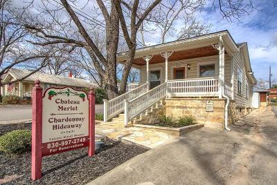 Fredericksburg Commercial For Sale: 312 E San Antonio St