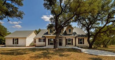 Blanco County Single Family Home For Sale: 956 Landing Ln.