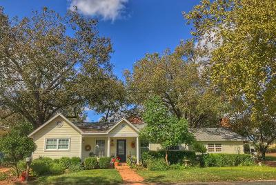 Fredericksburg Single Family Home For Sale: 1406 Cross Street