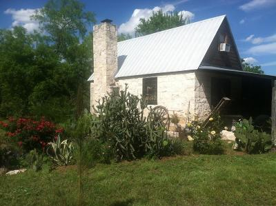 Fredericksburg TX Single Family Home Under Contract W/Contingencies: $395,000