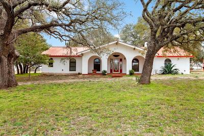 Fredericksburg TX Single Family Home For Sale: $695,000