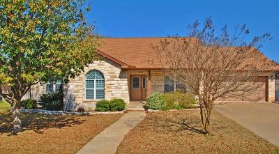Fredericksburg Single Family Home Under Contract W/Contingencies: 610 Paintbrush Hollow St