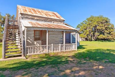 Gillespie County Single Family Home For Sale: 888 Dietrich Rd