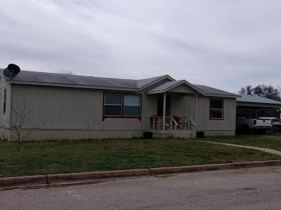 Llano County Single Family Home Under Contract: 510 E Luce St