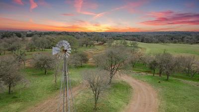 Fredericksburg TX Ranch Land For Sale: $2,100,000