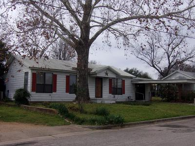 Llano Single Family Home For Sale: 504 E Green St