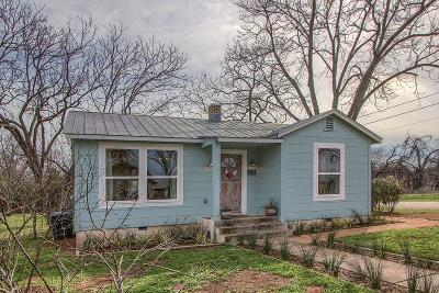Fredericksburg Single Family Home Under Contract W/Contingencies: 711 Winfred St