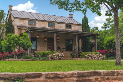 Fredericksburg TX Single Family Home For Sale: $1,749,000
