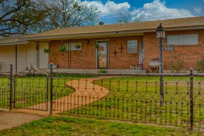 Llano County Single Family Home For Sale: 506 E Wallace