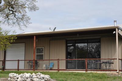 Fredericksburg Single Family Home Under Contract W/Contingencies: 216 Horizon Dr