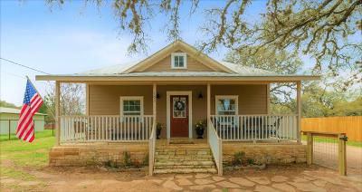 Blanco County Single Family Home For Sale: 105 N Avenue Q