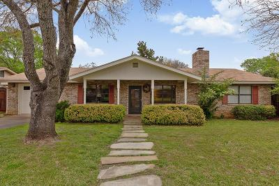 Fredericksburg Single Family Home Under Contract W/Contingencies: 202 Broadmoor St