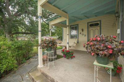 Fredericksburg Single Family Home For Sale: 403 W Austin St