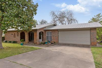 Fredericksburg Single Family Home Under Contract W/Contingencies: 329 Broadmoor St