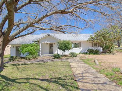 Gillespie County Single Family Home For Sale: 705 S Adams St