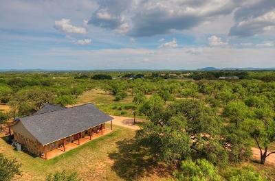 Llano Single Family Home For Sale: 268 County Rd 117