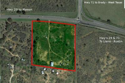 Llano Commercial For Sale: 3436 W Hwy 29