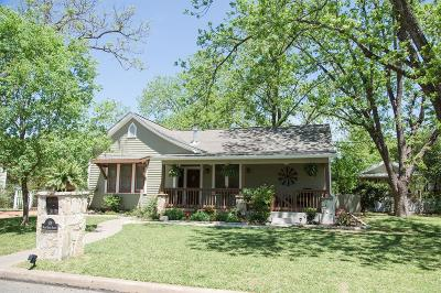 Gillespie County Single Family Home For Sale: 108 W Morse St