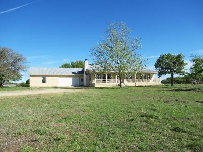 Gillespie County Single Family Home For Sale: 222 Cosmos View Lane
