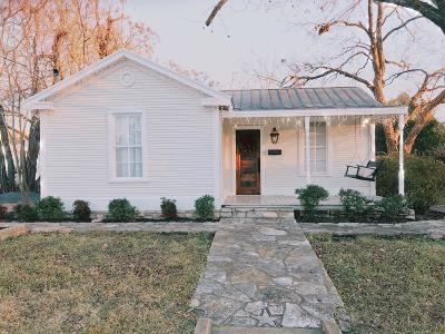 Single Family Home Under Contract W/Contingencies: 505 N Milam St