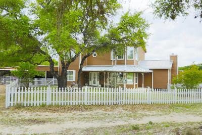 Gillespie County Single Family Home Under Contract W/Contingencies: 985 Klein-Ahrens Rd