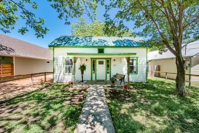 Fredericksburg TX Single Family Home For Sale: $325,000