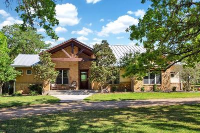 Fredericksburg Single Family Home Under Contract W/Contingencies: 85 N Buckhorn Trail