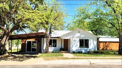 Blanco County Single Family Home For Sale: 504 N Lbj Drive