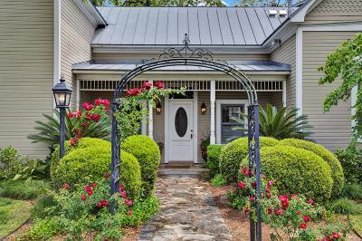 Fredericksburg Single Family Home Under Contract W/Contingencies: 308 E Travis St